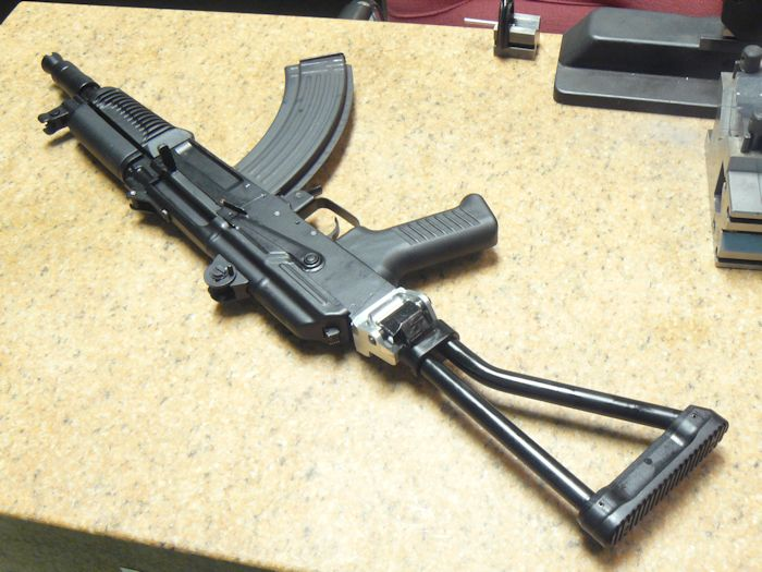 SAM7K folding stocks and muzzle devices(Accepting suggestions